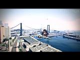 INCREDIBLE BIKE STUNT LANDING! (GTA 5 Online Stunts)