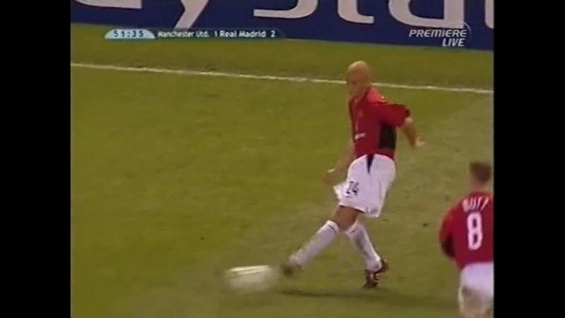 231 CL-2002/2003 Manchester United - Real Madrid 4:3 (23.04.2003) HL