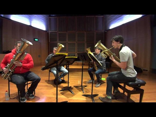 Sydney Ophicleide Quartet plays MendelssohnTelemann