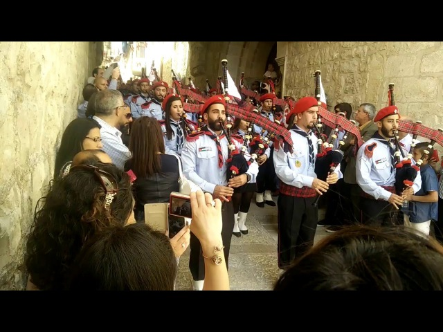 Вербное воскресенье в Иерусалиме