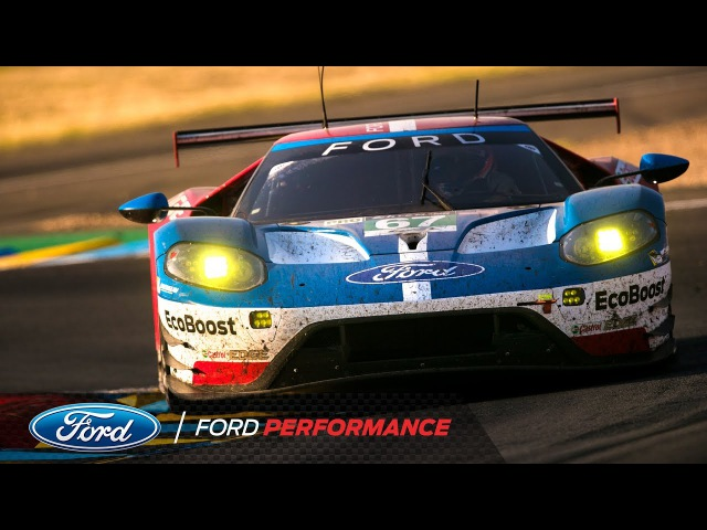 Ford GT Claims Runner-Up Finish at 85th Le Mans 24 Hour | Le Mans | Ford Performance