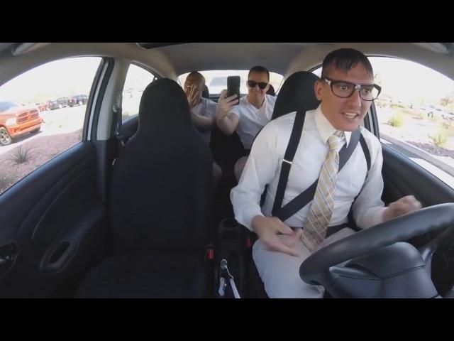 Такист под видом ботаника читает Rap! Ниггасу вкатило!