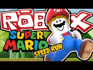 SUPER MARIO SPEED RUN! - Roblox Speed Run 4! W/AshDubh