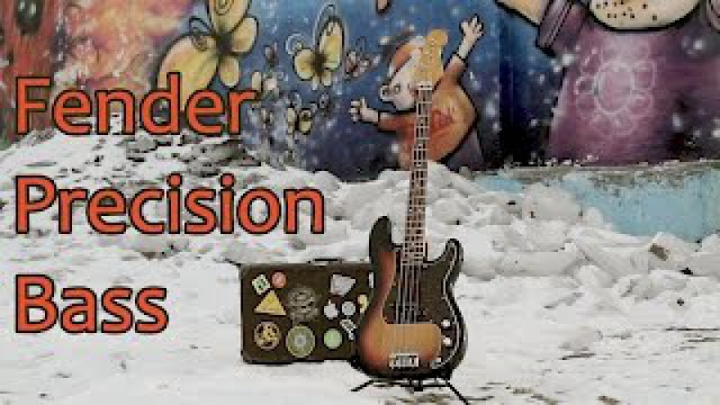 Знакомство с Fender Precision Bass (Made in Japan)