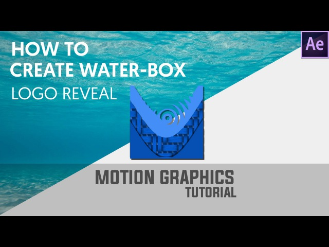 Simple Liquid Logo Animation in After Effects - After Effects Tutorial - No Third Party Plugins