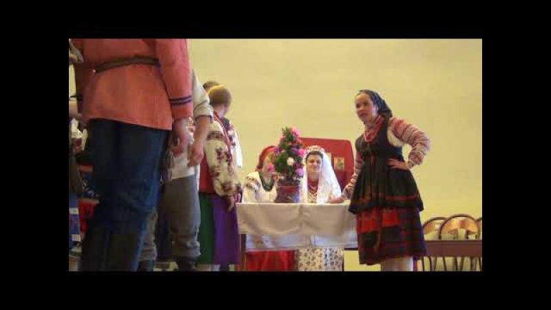 Звiла Танечка собi да вiночок. Болдырева Наталья. Omsk. Ukraine. Tradition. Folklore. дәстүр.