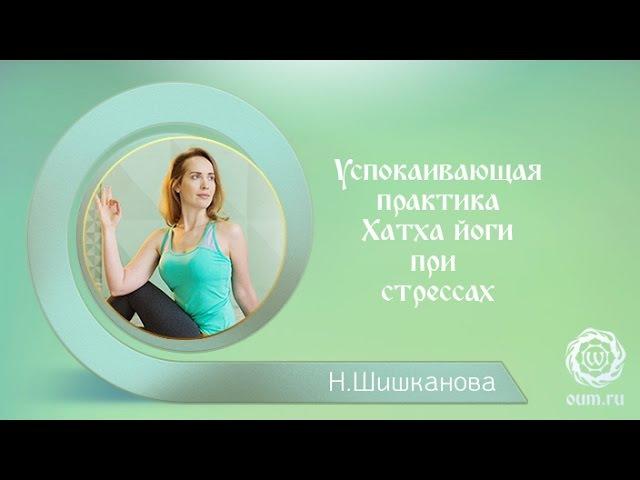 Успокаивающая практика Хатха йоги при стрессах. Надежда Шишканова