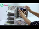 How to Make Dressing Table, Vanity Table, DIY Desk Organizer from Cardboard Newspaper