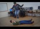 Extreme Stomach Jumping - Real Shaolin Iron Shirt Qigong Kung Fu Training