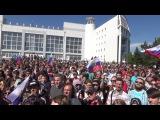 Митинг в Омске 12.06.17. - ПОСТ ДОЧЕРИ ПЕСКОВА.