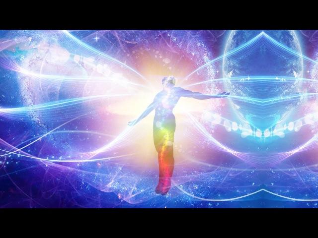 Медитация Перед Сном Дыхание Серебристым Потоком Света Наполнение Энергией Спираль Творения 🙏😇