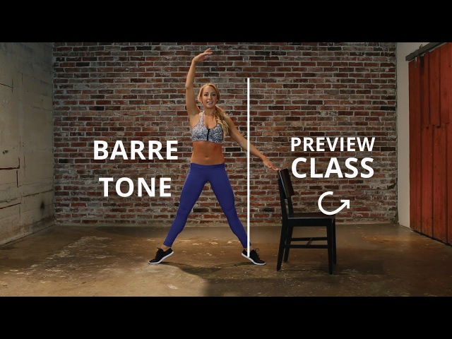 Barre Workout with LA Laker's Girl Jacquelyn Umof (free barre class!)