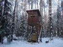 Интересная Охота на кабана с вышки зимой. Видео отчет. Пензенская область.