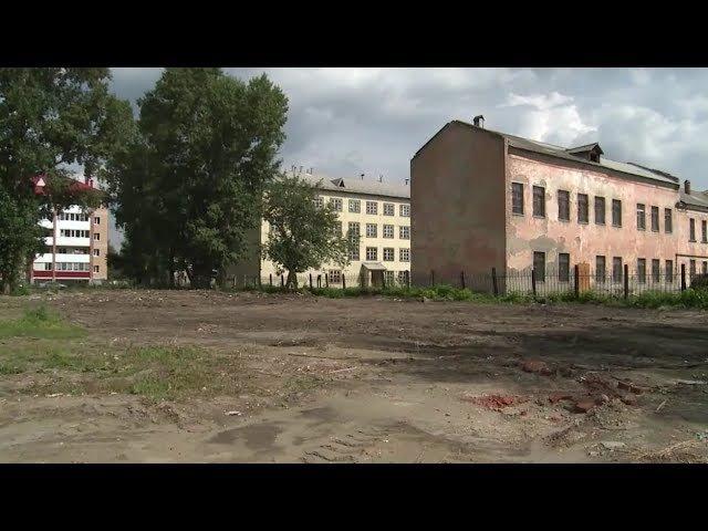 Свалку возле школы № 34 в Бийске вывезли (Будни, 01.07.17г., Бийское телевидение)