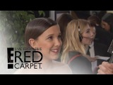 Millie Bobby Brown Inspired by Adele at 2017 Golden Globes E! Live from the Red Carpet