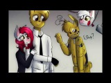 Springtrap x Mangle (Mike Perry - The Ocean)