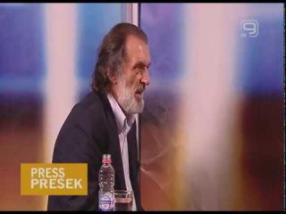TV KANAL 9, NOVI SAD: PRESS PRESEK, 09.06.2017. Vuk Drašković