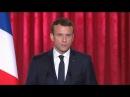 En intégralité, le discours d'investiture d'Emmanuel Macron à l'Elysée