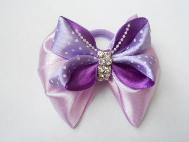 Бант - бабочка 3D МК DIY bow butterfly 3D26
