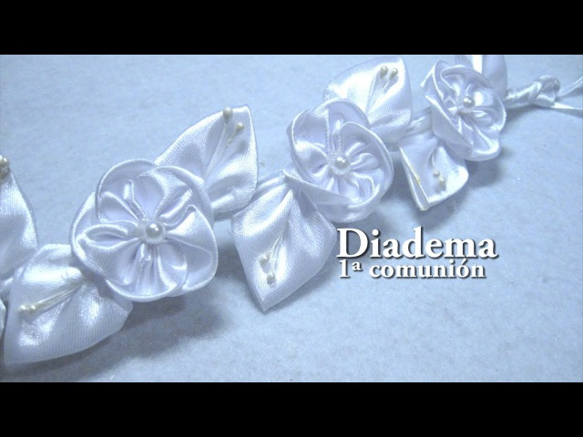 DIY - Diadema 1ª Comunión DIY - First Holy Communion Diadem