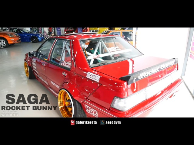 Saga Iswara Rocket Bunny by Cokelat Angin - Negeri Sembilan International Autosalon 2017