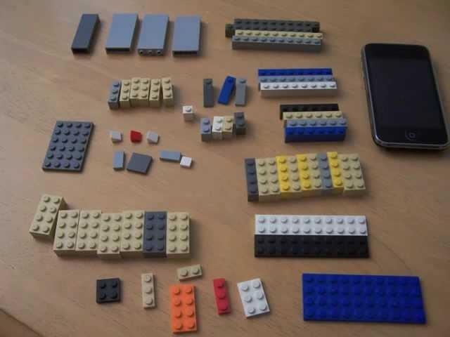 Lego iPhone Speaker Stand!