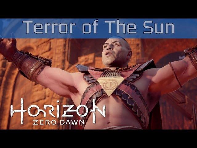 Horizon Zero Dawn - The Terror of The Sun Quest Walkthrough [HD 1080P]