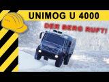 UNIMOG U4000 IM EINSATZ! Bergrettung Feldberg DOKU 4K MERCEDES-BENZ Unimog f