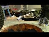Kayo T2 замена масла (защитка двигателя)