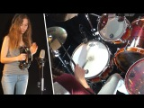 Eye Of The Tiger (Survivor) drum cover by Sina