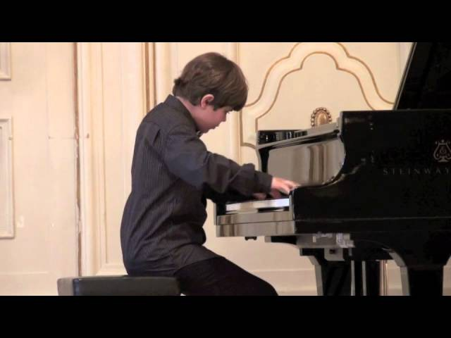 Chopin, Ballade No. 1, Michael Andreas Häringer, 10 years old