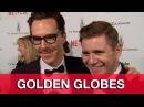 Benedict Cumberbatch Golden Globes Videobombs Interview!