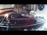 Фрезеровка (выравнивание) клапанных крышк Renge Rover 4.4