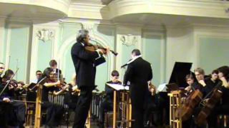 D. Shostakovich - Concerto op.126-a II-III Yuri Tkanov (viola), Vladimir Rujaev 13.02.2008 » Freewka.com - Смотреть онлайн в хорощем качестве