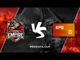 Team Empire vs. Elements @ Prodota Cup (bo3)