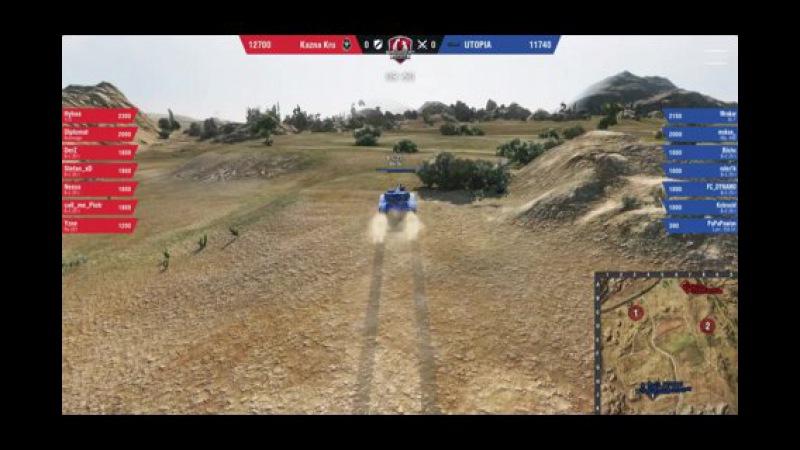 World of Tanks UTOPIA vs Kazna Kru WGLEU S2 2016 2017