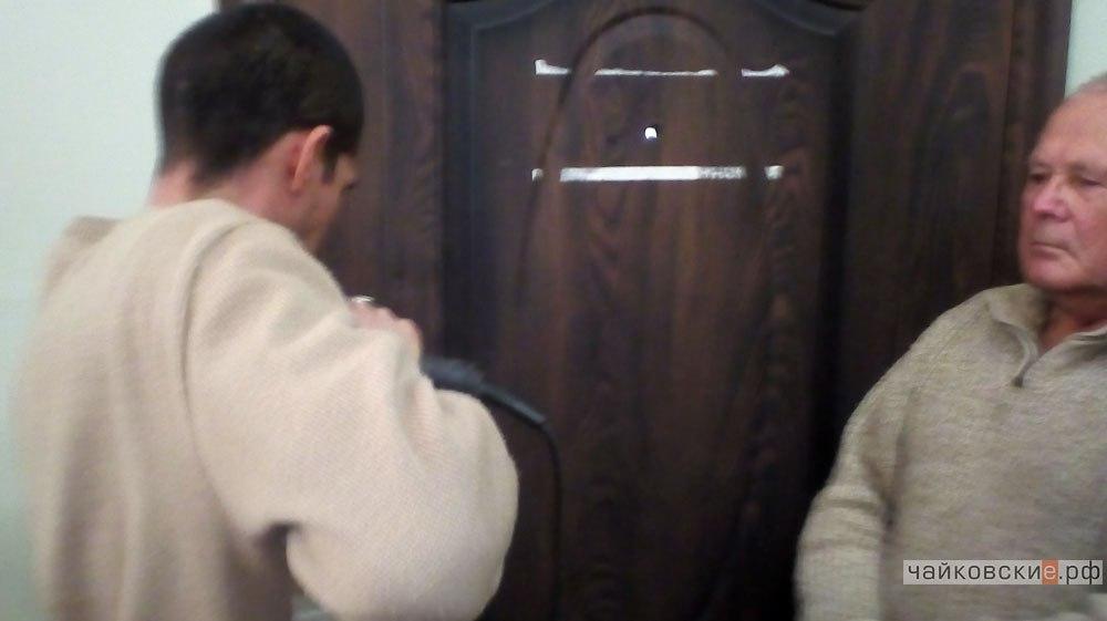 дверь, Чайковский, 2016 год