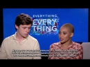 LOVE AT FIRST SIGHT and awkwardness with NICK ROBINSON and AMANDLA STENBERG (Everything Everything) Rus(sub)