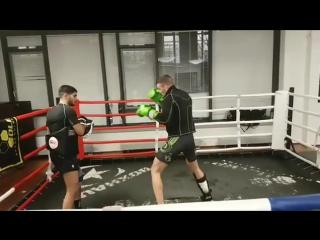 Тренировка экс-чемпиона М-1 Штефана Пютца