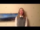 Пример видео-ролика на программу Учитель английского языка от Ксении