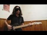 Megadeths Holy Wars..The Punishment Due while blindfolded