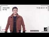 Видеопробы Тома Холланда (Человек-паук Возвращение Домой)
