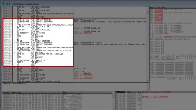 Взлом программ через OllyDBG (1)