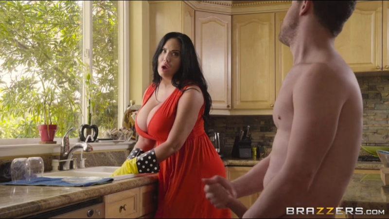 Sybil Stallone ( Stepmoms Spring Cleaning) Black, Cheating, Couples Fantasies, Doggystyle, milf, Latina,