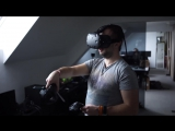 Wireless HTC Vive Prototype by Quark VR Teaser - YouTube