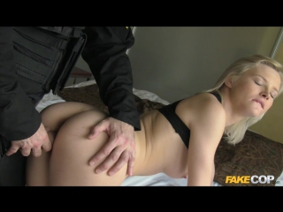 FakeCop / FakeHub Zazie Skymm (Blonde Takes a Facial from Cop / 2017) Swallow, All Sex