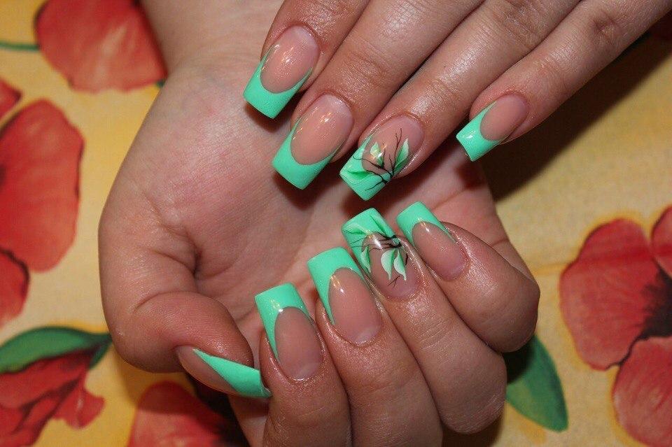 Дизайн ногтей гель