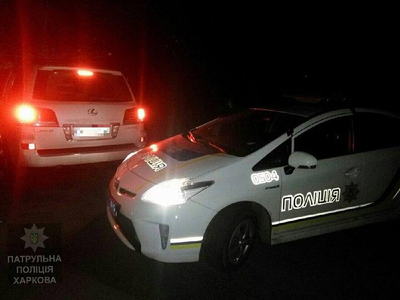 Большие неприятности пережил житель Харькова ночью (фото)
