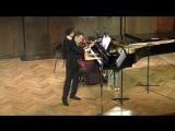 Ф. Шуберт Аве Мария, исп. Никита Борисоглебский (скрипка) и Наталья Купцова (фортепиано )