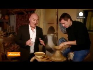 Открытки из Узбекистана - Керамика